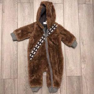 STAR WARS Chewbacca Onesie by Baby Gap